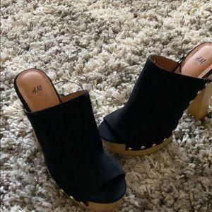 H&M platform heels